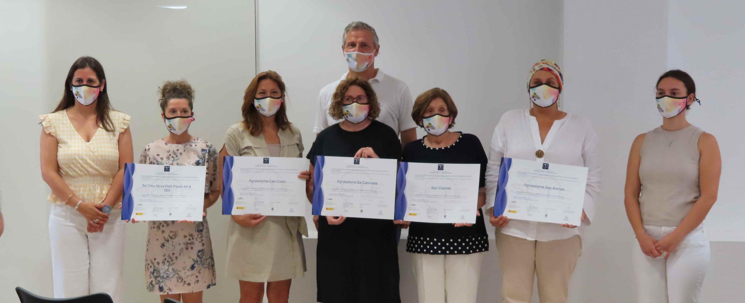 Entrega distintivos SICTED en Campos (Mallorca)