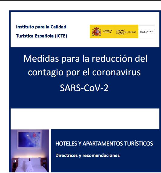 Hoteles y Apartamentos Turísticos – Directrices y recomendaciones (SARS-CoV-2)